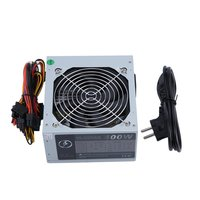 Gaming PC Power Supply 20Pin Max 650W Actual 400W 110V Desktop Computer PC Power Supply Single Cooling Fan