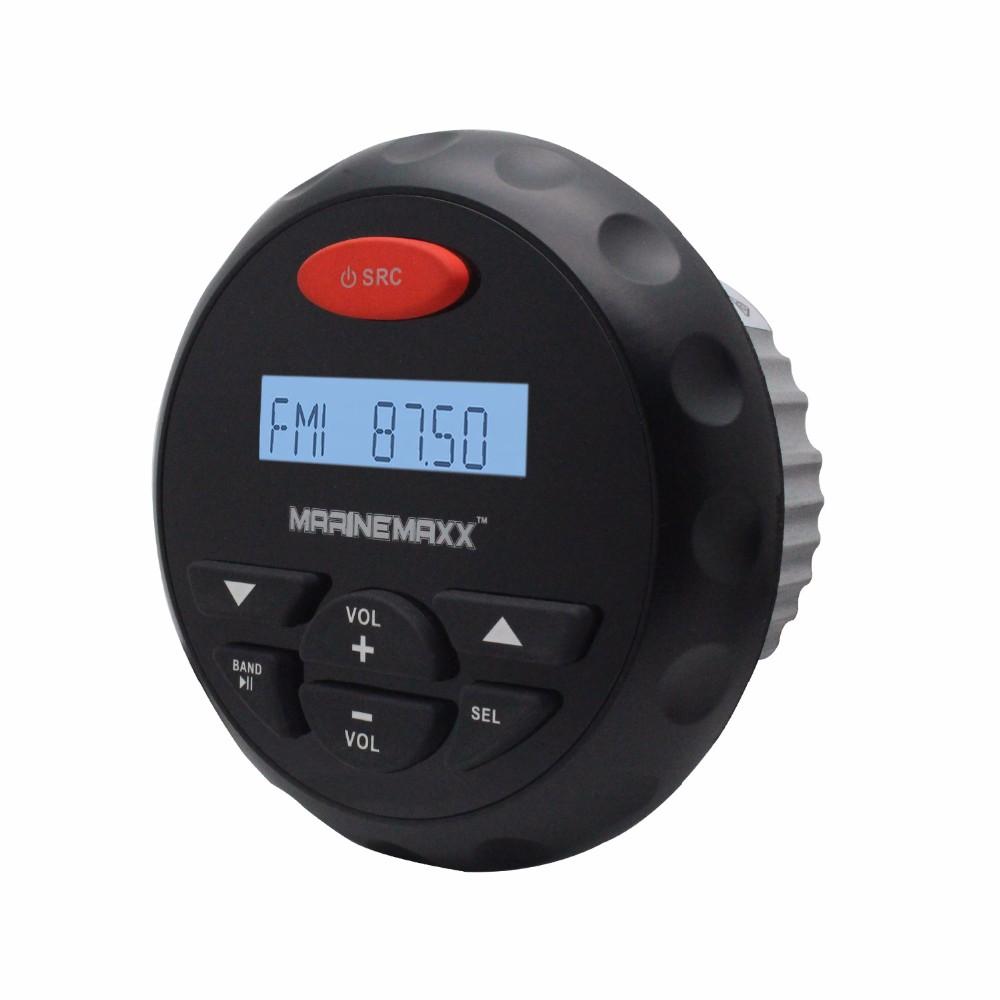"Marine Gauge AUDIO Bluetooth STEREO UTV/ATV Sounds+2X4""Outdoor Speakers+Antenna"