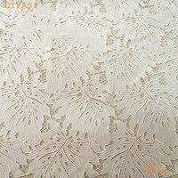 2017 vải ren Châu Phi, chất lượng cao Nigeria tulle vải ren cho bên váy thụy sĩ Phi nhung ren trắng pháp màu 5y