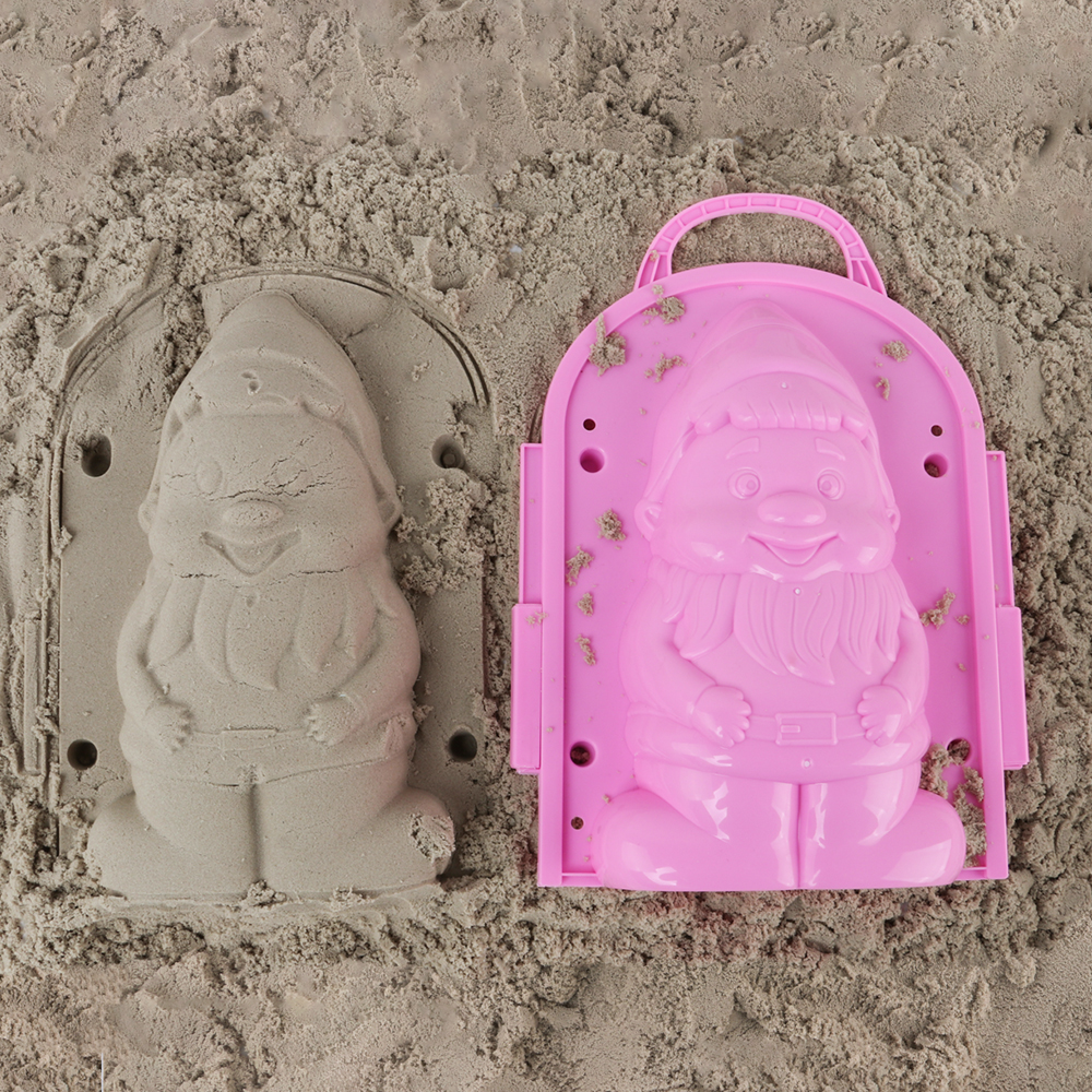 Funny Beach Sand Game 3D Cartoon Spirit Mold Beach Snow Sand Model Children's Model Toys Children Outdoor Beach Playset