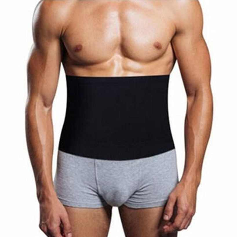 c721e762eeb0d Hot Sale Shapers Waist Trimmer Slimming Belt Men s Compression Body Shaper  Girdle Natural Weight-Loss
