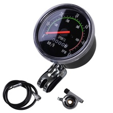 цена на Mechanical Speedometer Universal Classical Bike Cycling Odometer Stopwatch Waterproof Bicycle Tachometer Gauge for Bicycle