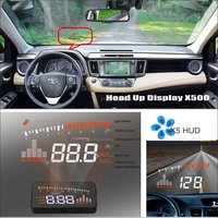 Para TOYOTA RAV4 RAV RAV 4 4 Car HUD Head Up Display Safe Driving Projetor De Tela Refkecting Brisa|head up|up displayrav 4 -