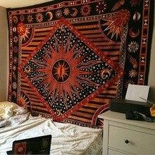 Hippie tapestry Moda yoga digitale stampato telo mare crema solare scialle quadrato Indiana mandala arazzi GT0025