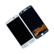 LCD عرض لموتورولا موتو Z الروبوت XT1650 01 03 05 XT1650 LCD عرض تعمل باللمس محول الأرقام الجمعية إصلاح أجزاء
