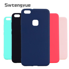 For Funda Huawei P10 lite case Matte Silicone Soft 360 Full Body Cover P8 P9 2017 Phone cover