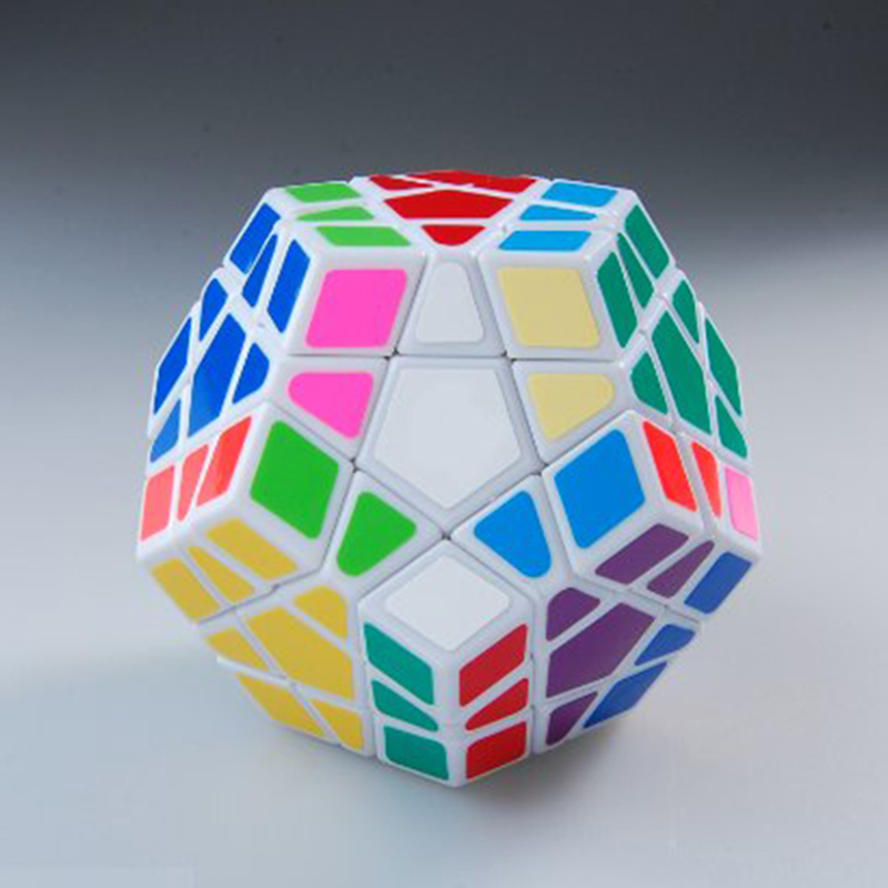 Shengshou Megaminx Magic Cube Speed Puzzle Cubes Cubo Magico Kids Toys Anti Stress Brain Teaser IQ Learning Educational Toys (4)
