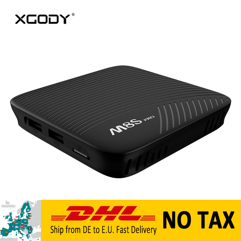 In Stock XGODY M8S Pro L 4K Smart TV Box Android 7.1 Nougat Amlogic S912 Octa Core 3G+32G Media Player TV Streamer Set top Box m8s pro l google voice smart tv box android 7 1 amlogic s912 3g 16g 3g 32g tvbox youtube 4k ultra hd movie bt media player dhl 5