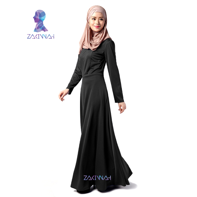e1359046c16b New arrival fashion designs Muslim girl dress simple long dresses Islamic  Muslim for women abayas dubai