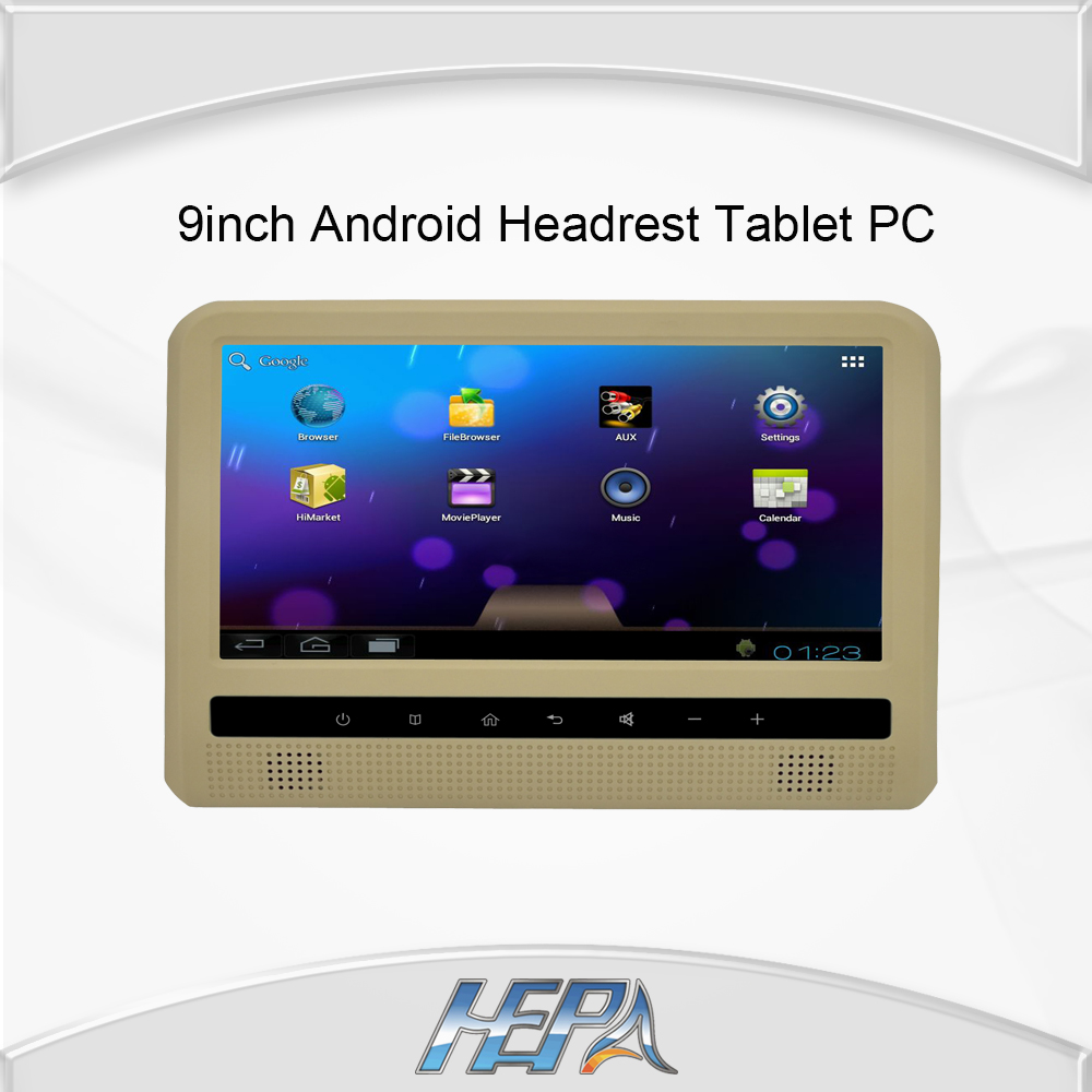 1 set tablet pc moniter hepa 9inch digital led screen android headrest tablet pc car home - Six uses old tablet ...