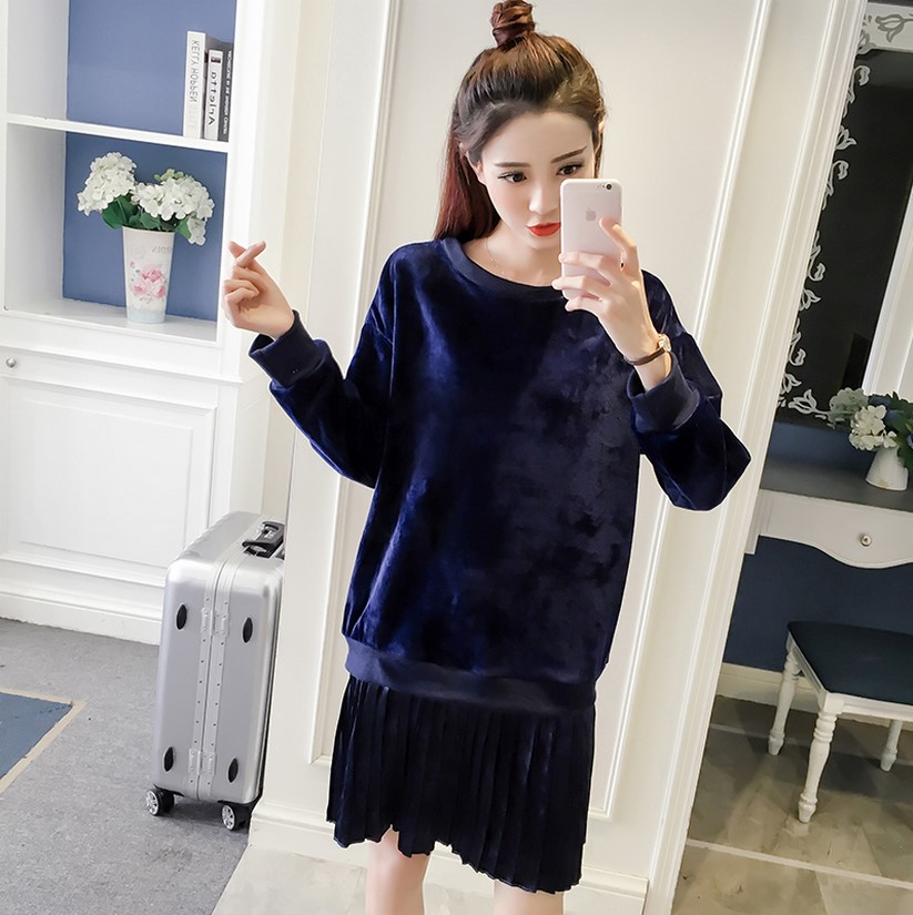 Buy 2017 New Arrival Women 39 S Fashion Korean Style Pleated Dresses Girls Casual