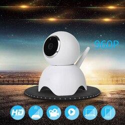 Домашний мини-безопасности IP Камера Беспроводной Смарт Wi-Fi Камера Wi-Fi аудио запись видеонаблюдения Видеоняни и радионяни HD Mini CCTV Камера мин...