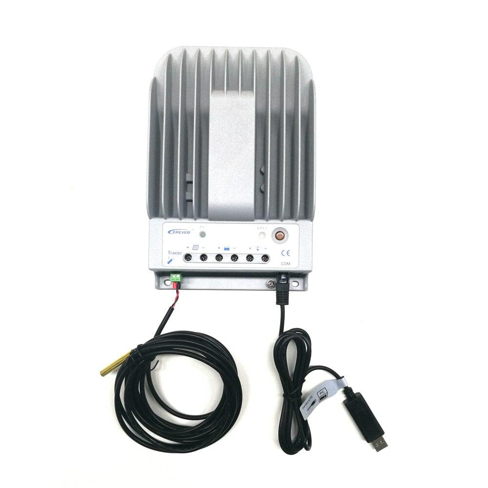 Contrôleur solaire MPPT 10A traceur 1215BN 12 V/24 volts contrôleur de GEL de batterie de panneau solaire peut utiliser pour l'éclairage solaire de LED de rue