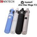 Original joyetech ego uno mega v2 atomizador starter kit 4 ml tanque y 2300 mah batería de cigarrillos e vaporizador e hookah vape