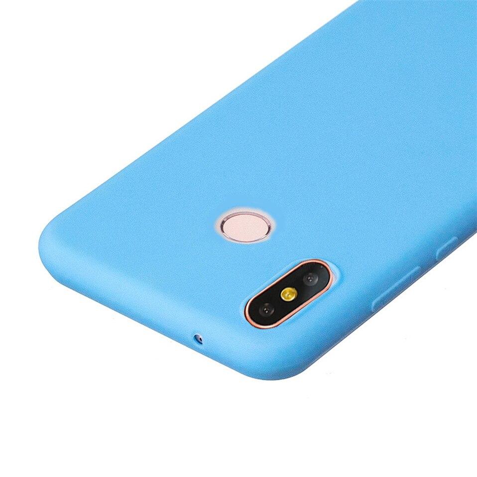 Candy Macaron Color Case For Xiaomi Redmi S2 6A 6 Pro 03