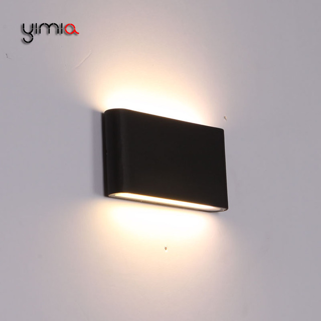 Yimia led outdoor lighting wall lamps indoor modern ip44 courtyard yimia led outdoor lighting wall lamps indoor modern ip44 courtyard aisle balcony bedroom wall lights nordic aloadofball Image collections