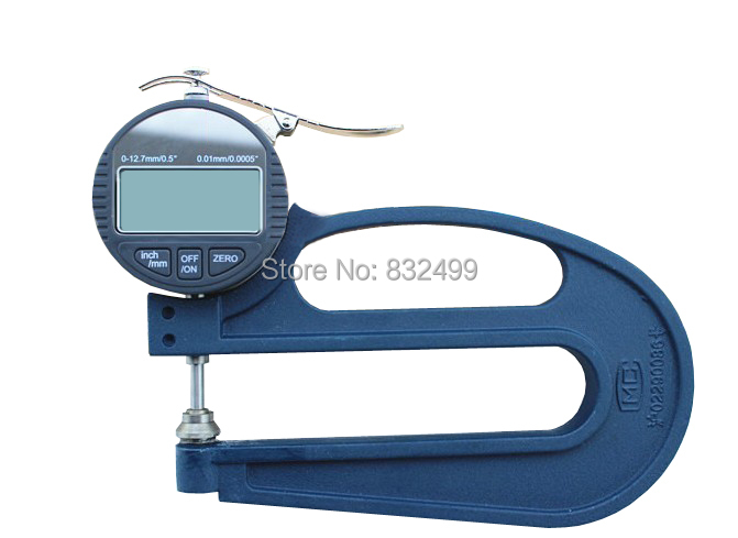 2016  New High quality digital  thickness Gauge for paper ,film, leather (Resolution 0.01MM) exploit high precision 0 01mm profession digital lcd display thickness gauge meter paper leather fabric thickness tester