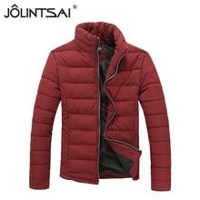 2015 Новый Корейский Тонкий Модные мужские зимние куртки Теплый Пуховик Пальто Человек И Пиджаки Обивка Одежды AE-LN-528