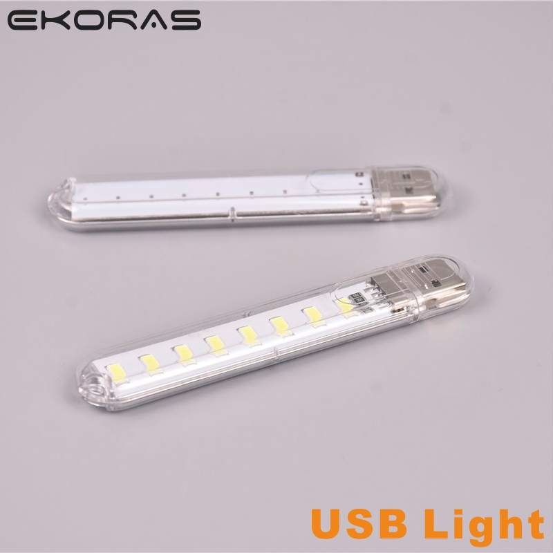 фонарик Mini USB Gadget LED Light  Book Lights DC5V 8 LEDs Camping Computer Portable Night USB Gadget Lighting For PC Laptop