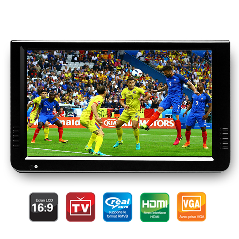 Leadstar 10 Inch DVBT / DVBT2 və Analog / ATSC Mini Led HD Portativ - Evdə audio və video - Fotoqrafiya 3
