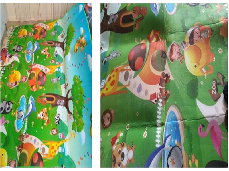 HTB1BrWVa21H3KVjSZFHq6zKppXaP Baby Play Mat 0.5cm Thick Crawling Mat Double Surface Baby Carpet Rug Animal Car+Dinosaur Developing Mat for Children Game Pad
