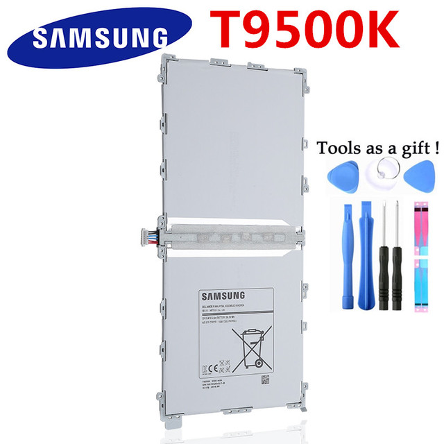 100% Original 9500 mAh Thay Thế Pin Cho Samsung Galaxy Lưu Ý Pro 12.2 SM P900 P901 P905 T9500C T9500E T9500U T9500K + công cụ