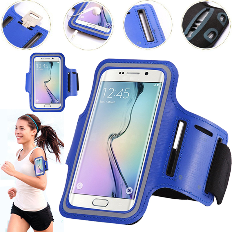 Sport Running Arm Band Case For <font><b>Samsung</b></font> <font><b>Galaxy</b></font> Note 10 5G 9 <font><b>8</b></font> S10 S10e S9 S8 S7 S6 Edge A6 A8 Plus <font><b>2018</b></font> A7 J5 J7 2017 Cover Bag image