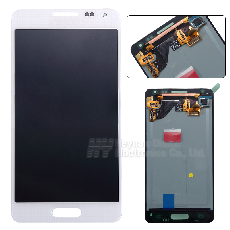 Wholesale100 Original lcd display touch screen for Samsung Galaxy Alpha G850 G850F G850M G850K G850S freeshipping