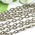 10 meter/lot Wholesale Antique brown Necklace Chain Bulk Iron Jewelry Chain Lots Diy Jewelry Making Findings F760