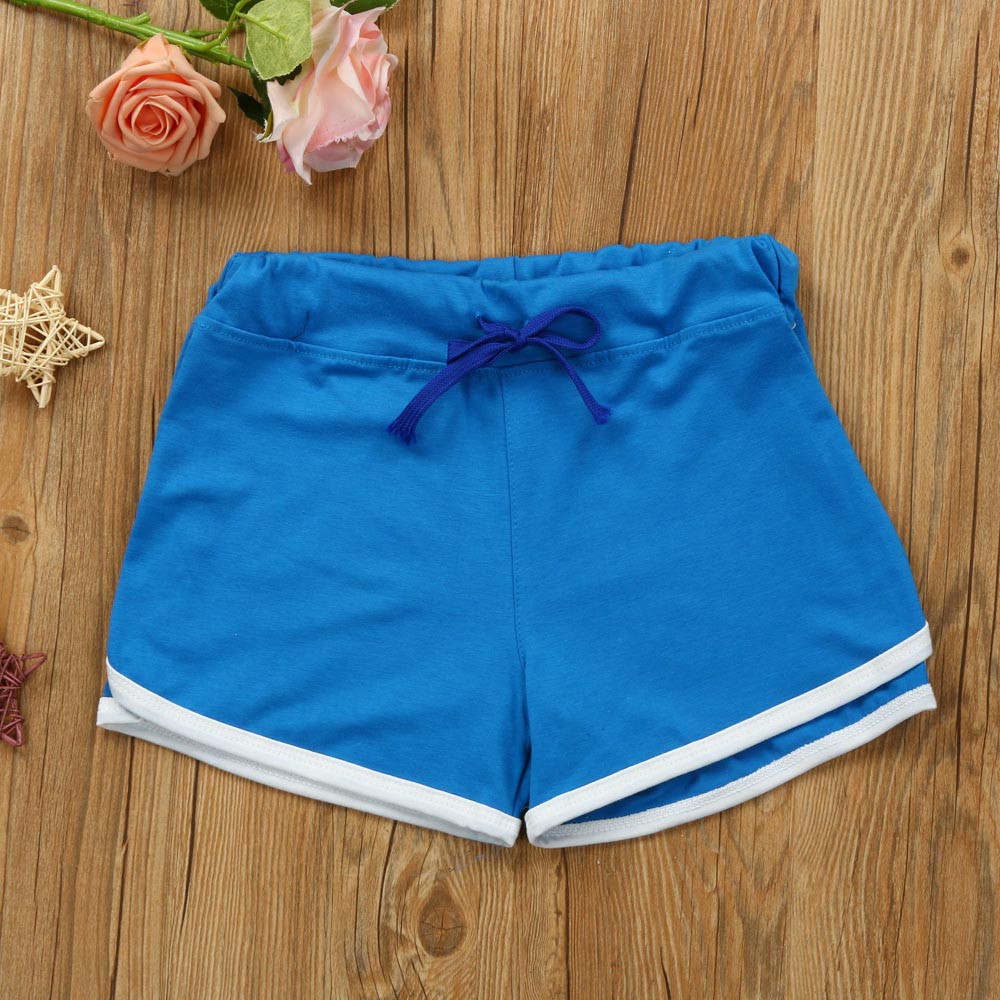0ee5926affc US $3.19 30% OFF Summer Women Sport Shorts Gym Workout Waistband Skinny  Yoga Elastic Shorts High Stretch Exercise Trousers 2019-in Yoga Shorts from  ...