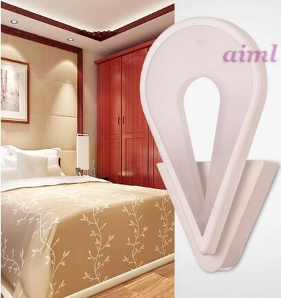 LED 11W-15W Acrylic Creative Warm Sitting Room The Bedroom Of The Head Of A Bed Of Corridor Corridor Wall Lamp 110-240V  @-9