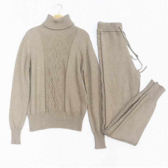 Aliexpress Buy Winter Woolen And Cashmere Pattern Knitted Warm