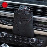 Car Air Vent Phone Holder Organizator Przechowywania Kieszeni Torby Auto Akcesoria Organizator Przechowywania Kieszeni dla iPhone Papierosów Klawiszy Monety