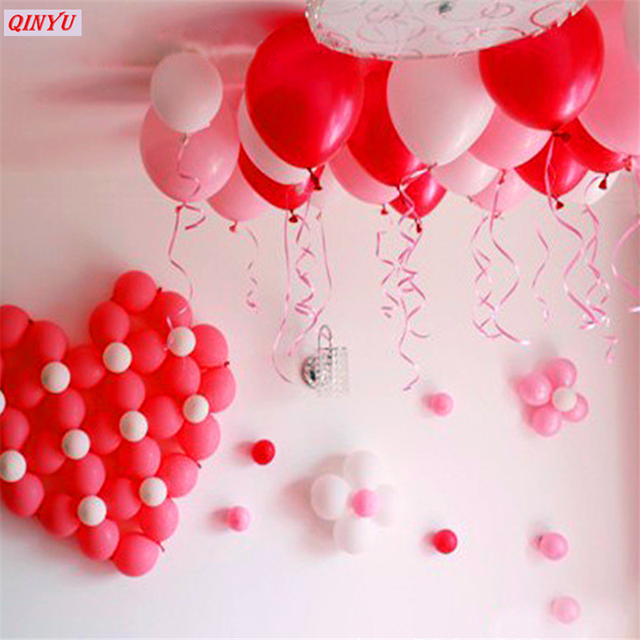 colored balloon tie rope foil balloon plastic tied rope gift flower