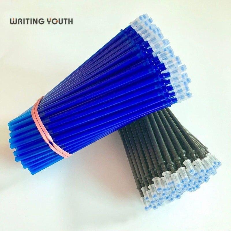41.94руб. 22% СКИДКА|20 шт./компл. черные, голубые чернила, гелевая ручка, стираемая ручка, стержни для заправки, большая емкость, для письма, замена, школьные принадлежности, канцелярские принадлежности|Гелевые ручки| |  - AliExpress