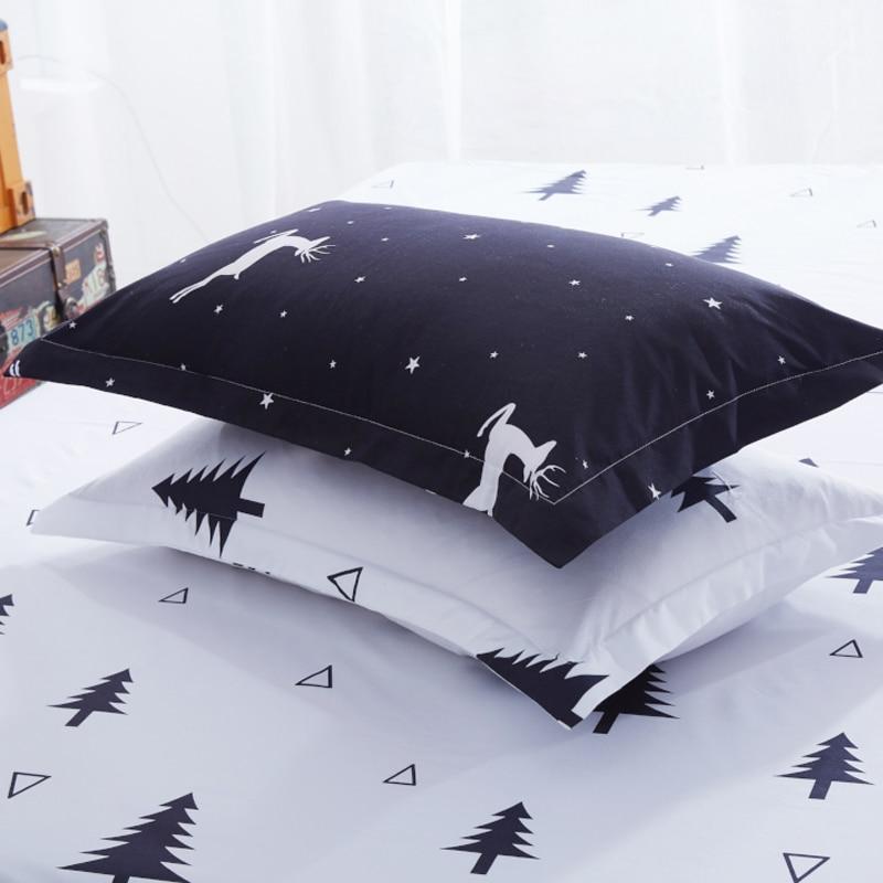 1PC Pillow Case 70*70 50*70 50*75  Pillowcase Decorative Pillow Cover Bedding For Hotel Wedding Tree