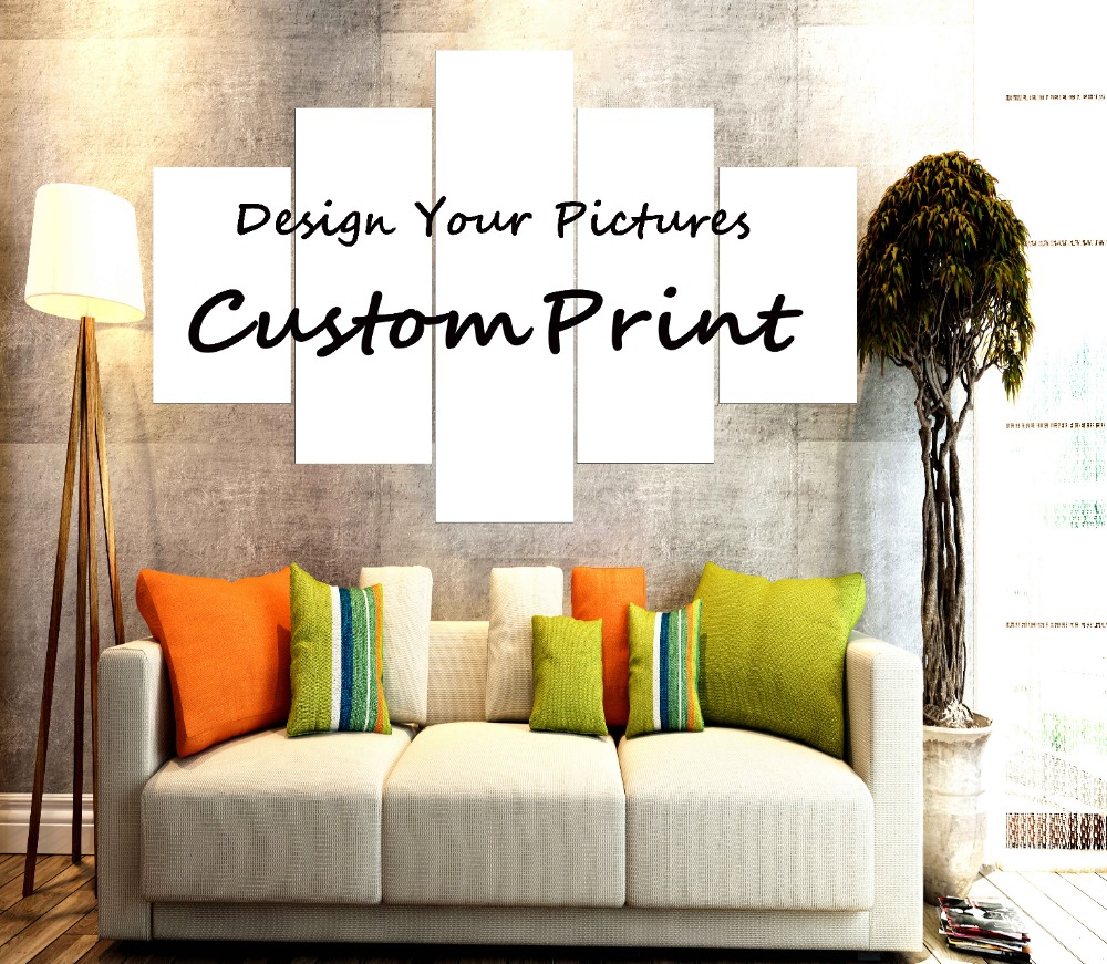 Home Decorators Customer Service: New Hot Sell 5 Piece Canvas Painting Customer Prints