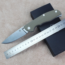 Good Quality 60HRC D2 blade G10 handle folding knife outdoor camping survival tool hunting EDC tactical knives