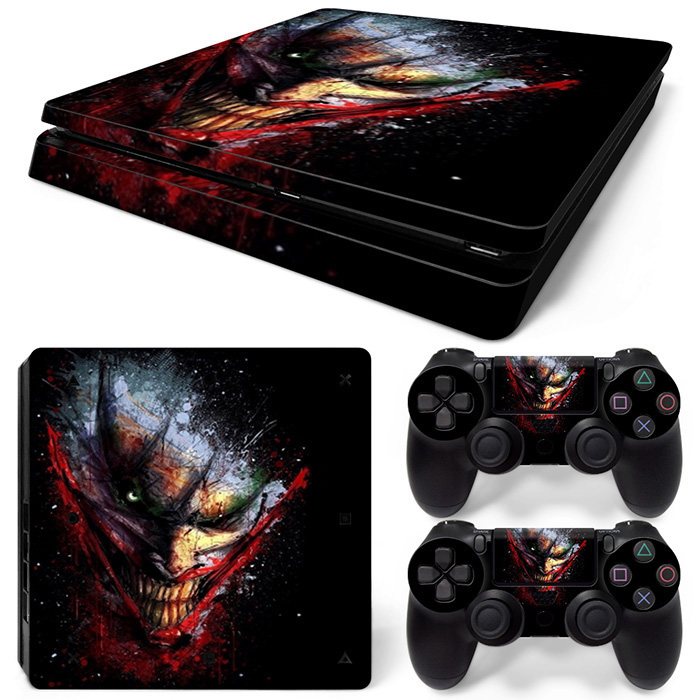 New Arrival Waterproof Custom Protective Vinyl for PS4 Slim Skin Sticker Game Decal