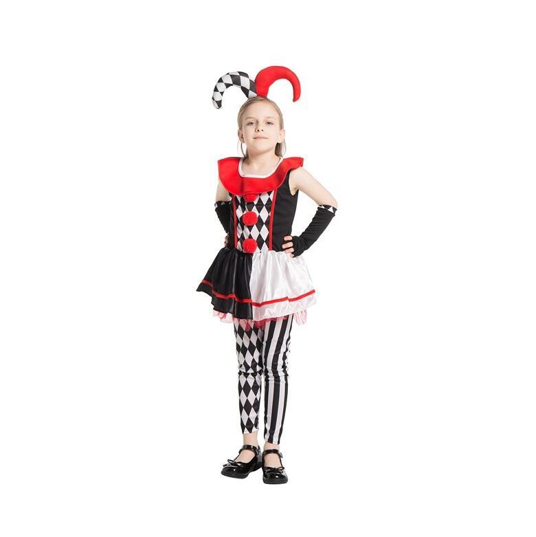 Suicide Squad Harley Quinn Dress Headwear set Clown Girl Sexy Cosplay Costumes Halloween Women girls Bodysuit Fancy Dress