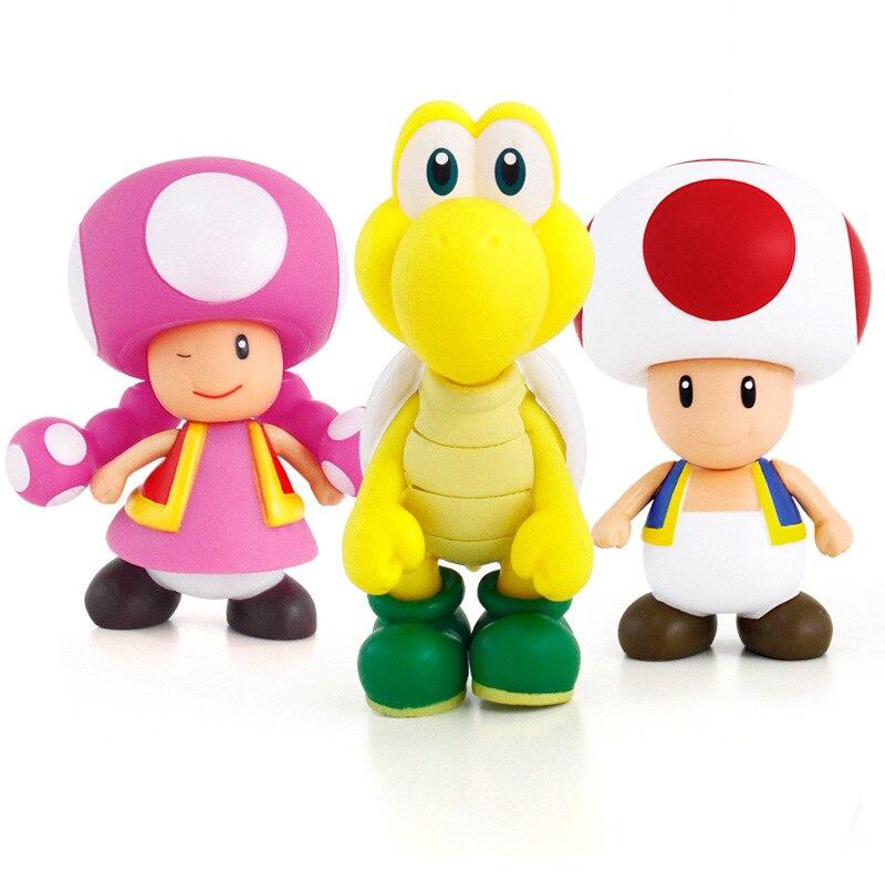 Super Mario Bros Mario Yoshi Luigi Resin Action Figure - Խաղային արձանիկներ - Լուսանկար 4