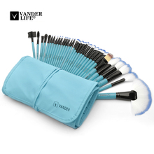 VANDER 32Pcs Makeup Brushes Set Kit Cosmetic Brush Eyebrow Foundation Shadows Ey