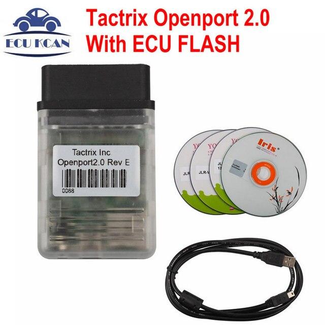 Новейшие Tactrix Openport 2.0 Со ВСПЫШКОЙ ECU Отлично Tactrix Openport2.0 Диагностики ECU Чип Tunning Работает Для Нескольких Автомобилей Марки