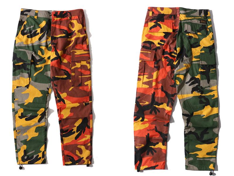 Two-Tone Camo Pants 1