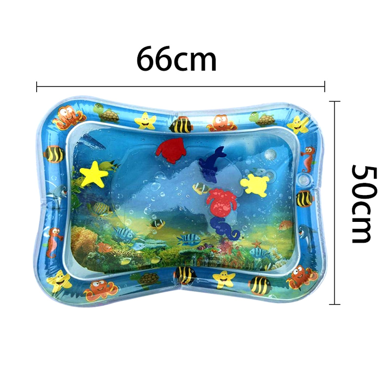 1 Pcs Baby Kids Inflatable Water Mat Patted Play Pad Cushion Toys Early Education BHD2