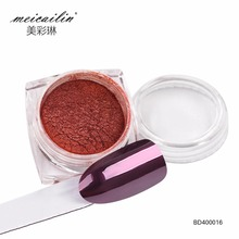 Meicailin 1g Rose Gold Dust Manicure Mirror Nail Glitter Pow