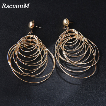 RscvonM Round Big Circle Gold Vintage Dangle Earrings Metal Maxi Jewelry Party Statement Charm Cheap Long.jpg 350x350 - RscvonM Round Big Circle Gold Vintage Dangle Earrings Metal Maxi Jewelry Party Statement Charm Cheap Long Earrings Wholesale