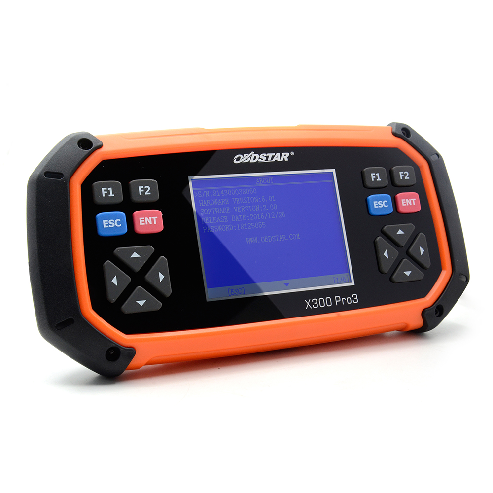 Obdstar X300 Pro3 Key Master With Immobiliser + Odometer Adjustment +Eeprom/Pic+Obdii Dhl Free Shipping