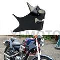 Nuevo Marco Negro Cuello Tapa de Colin moto Para Honda VT Shadow VT600 VLX 600 600 STEED400 Motocicleta ABS Plástico