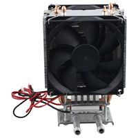 hot Thermoelectric Peltier Refrigeration DIY Water Cooling System Cooler Device 12V
